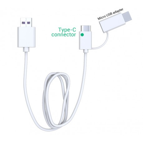 Cable chargeur USB type C / Micro-USB