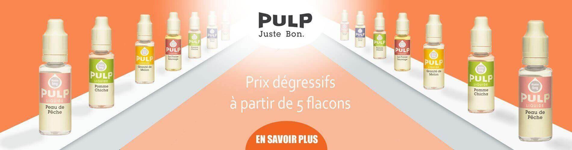 Liquides pulp destock